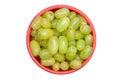 Bowl of grapes Royalty Free Stock Photo