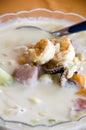 Bowl of mixed seafood soup nicaragua Stock Photography