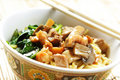 Bowl of noodle Royalty Free Stock Photography
