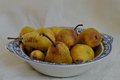 Bowl of pears a still life a Stock Images