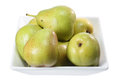 Bowl of Pears Royalty Free Stock Photo