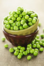 Bowl of peas Royalty Free Stock Photography