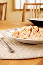 Bowl of Porridge Stock Photography