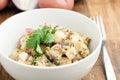 Bowl of Potato Salad Royalty Free Stock Photo