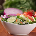 Bowl of salad. Stock Photo