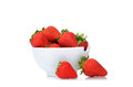 Bowl Strawberries Royalty Free Stock Photo