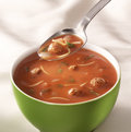 Bowl of tomato soup Royalty Free Stock Photo