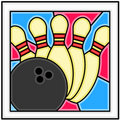 Bowling!!! Royalty Free Stock Photography