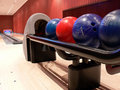 Bowling alley Royalty Free Stock Image