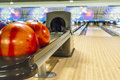 Bowling balls Royalty Free Stock Photo