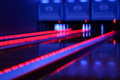 Bowling lights Stock Photography