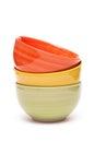Bowls of china Stock Photo