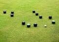 Bowls Sport - Bowling Green Royalty Free Stock Photo