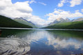 Bowman lake Royalty Free Stock Photo