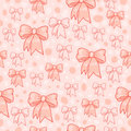 Bows pattern Royalty Free Stock Photos