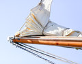 Bowsprit of a sailing vessel Royalty Free Stock Photography