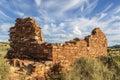 Box canyon ruin pueblo in wupatki national monument near flagstaff arizona Stock Photo