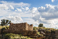 Box canyon ruin pueblo in wupatki national monument near flagstaff arizona Stock Photography