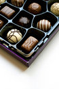 Box of chocolates Royalty Free Stock Photography