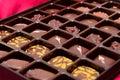 Box of chocolates Royalty Free Stock Photo