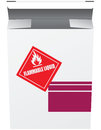 Box for Flammable Liquid Stock Photography
