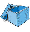 Box icon sketch vector illustration this is file of eps format Stock Photos