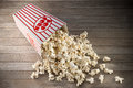 Box Popcorn Background Royalty Free Stock Photo