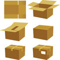 Box process Royalty Free Stock Photos