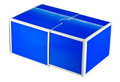 Box for protection. Royalty Free Stock Images