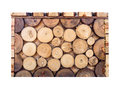 Box square wood log brown overlay pattern Royalty Free Stock Photo