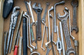 A box of tools. Royalty Free Stock Photo