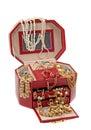 The box of the treasure Royalty Free Stock Photo