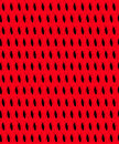Boxelder bugs background pattern black bug silhouettes on red Royalty Free Stock Photo