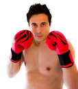 Boxer man Stock Image
