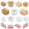 Boxes Royalty Free Stock Photos
