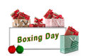 Boxing Day Royalty Free Stock Photo