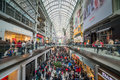 Boxing day toronto december shoppers visit the mall in toronto canada on the december Royalty Free Stock Photo