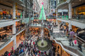 Boxing day toronto december shoppers visit the mall in toronto canada on the december Stock Image