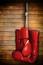 Boxing-glove Royalty Free Stock Photo