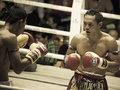 Boxing Muay Thai Charity in Thailand Royalty Free Stock Photography