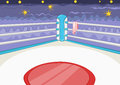 Boxing Ring Royalty Free Stock Photo