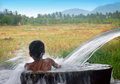 Picture : Boy in a bath circus organic