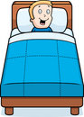 Boy Bedtime Royalty Free Stock Photo