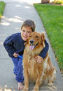 Chlapec a pes