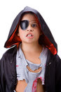 Boy with dracul disguise Royalty Free Stock Photo