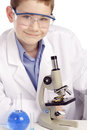 Boy Genius Scientist Royalty Free Stock Photography