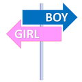 Boy or girl Royalty Free Stock Image