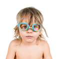 Boy in glasses Royalty Free Stock Images