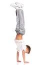 Boy gymnastic Royalty Free Stock Photo