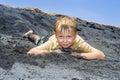 Boy Has Fun   In The Dunes Of ...